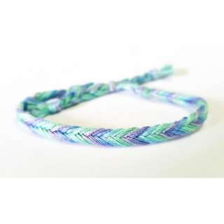 Pastel Fishtail Friendship Bracelet 023