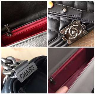 DETAILS CHANEL BOY ON SALE