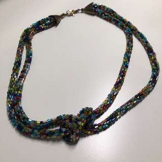 Rainbow necklace from Japan