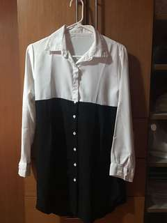 Unbranded two tone shirt