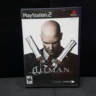 PS2 Hitman Contacts (Used Game)