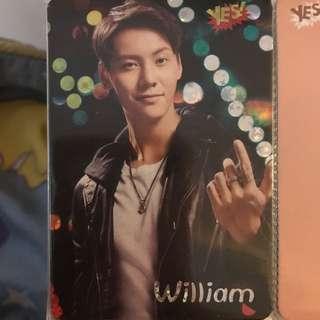 William陳偉霆yes card free
