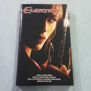 Legit Used Marvel Elektra Paperback Book
