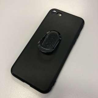 🈹 買一送一 iPhone 7/8細機 企架指環磁鐵三合一手機電話殼 Phone Case