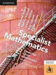 Cambridge Specialist Maths 3&4 PDF