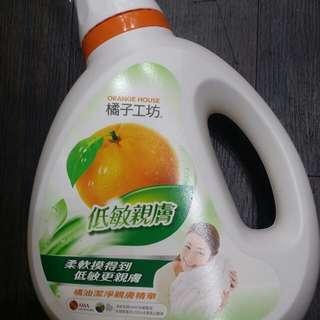 橘子工房洗衣液1800ml