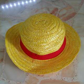 One Piece Luffy Mugiwara Straw Hat