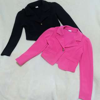 Pink and Black Long Sleeves Suit 2-4 years old