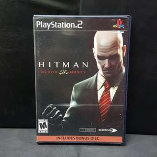 PS2 Hitman Blood Money (Used Game)