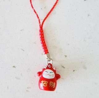 Fortune cat keychain / pendant / accessories
