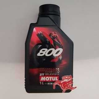 2 Stroke Motorcycle 2T Motul 800
