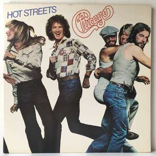 Chicago ‎– Hot Streets (1978 USA Original - Vinyl is Mint)