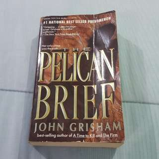 Legit Used The Pelican Brief Paperback Book