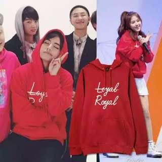 BTS V LOYAL ROYAL HOODIE