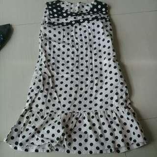 Cute polka dotted Dress