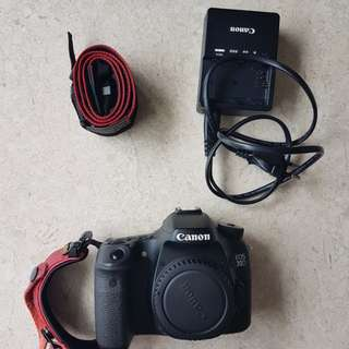 Canon 70D with Speedlite and SpiderPro handstrap