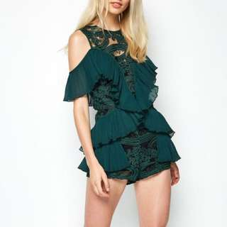 Alice McCall Adore Playsuit in Forest - AU6/US2/EUR34