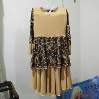 Baju Kurung Peplum for kids