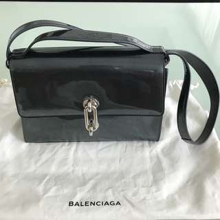 Balenciaga Patent Shoulder Bag