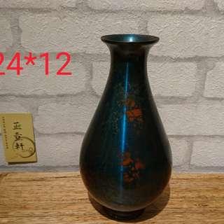 日本花器、純銅製