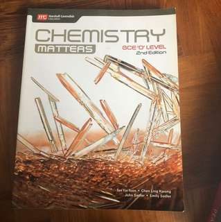 O level Chemistry Textbook (Marshall Cavendish)