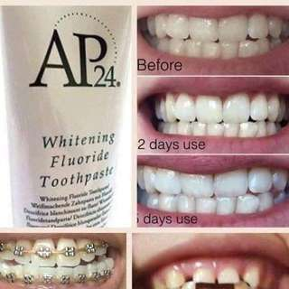 Ap24 whitening teeth