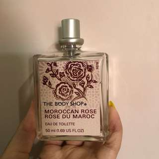 Body Shop Moroccan rose Perfume EDT