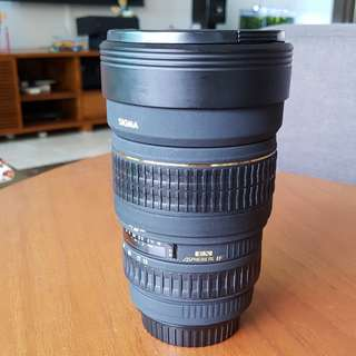 Sigma 15-30mm for Canon mount (full frame)