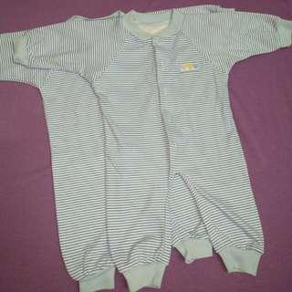 10 pcs Baju bayi jumper sleepsuit