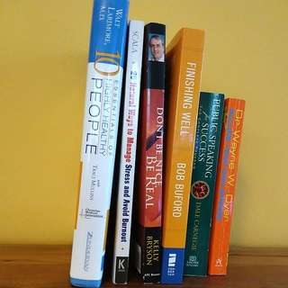 Books about Self-improvement