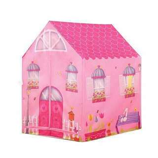 girl house tent