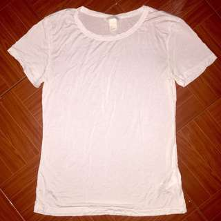 H&M Divided plain white shirt