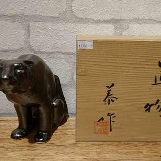 日本名家陶藝、鐵釉、擺飾