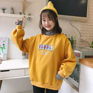 (PO) Ulzzang graphic two piece sweater
