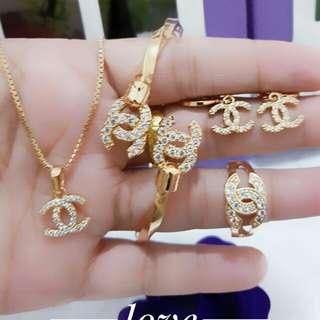 Jewellery matt : rodhium 1 set