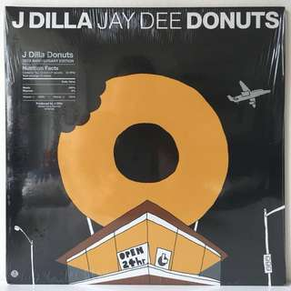J Dilla ‎– Donuts (2016 USA 10th Anniversary Limited Edition - SEALED - MINT)