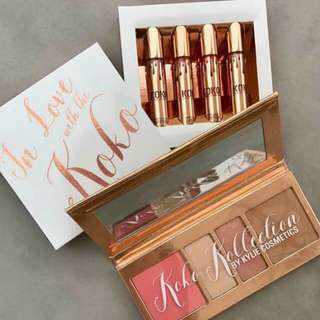Koko In Love Make up Set w/ Lipsticks