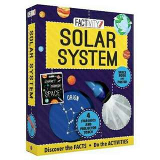 [Brand New] Factivity Solar SystemDiscover the Facts, Do the Activities  ( By: Parragon Books Ltd }