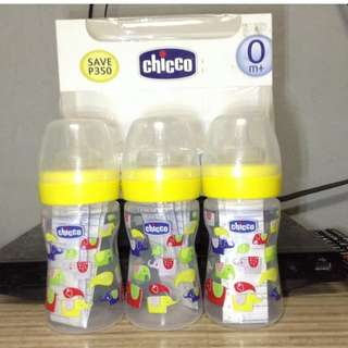 Chicco Regular Flow Feeding Bottle 150mL/ 5oz. (Yellow)