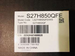 "Samsung 27"" WQHD Premium Business Monitor"