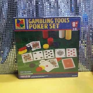 GAMBLING TOOLS POKER SET (actual photos here)