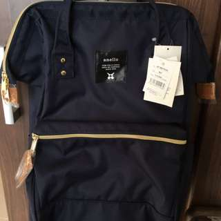 Anello Backpack (Navy Blue) Authentic BNWT