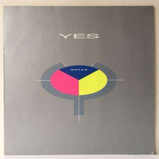 Yes ‎– 90125 (1983 USA Original - Vinyl is Mint)