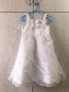 童裝 Nicholas & Bears 裙 表演裙 花女裙 結婚裙 8Y