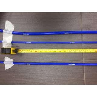 Samco   BLUE   vacuum hose ID 3mm ~~~   5 SAMCO logo per meter    Per ROLL 50 meter model 40368