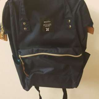 Anello Bag (Navy Blue) Authentic, New