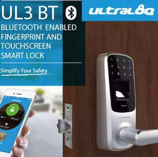 Ultraloq UL3-BT Silver colour smart lock Parts