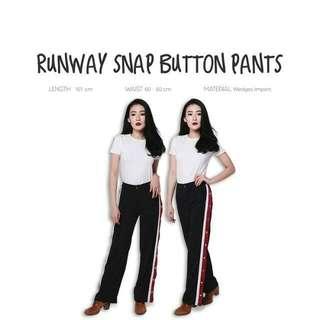 Runaway Snap Button Pants
