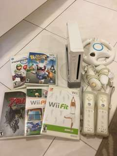 Nintendo Wii Console Games