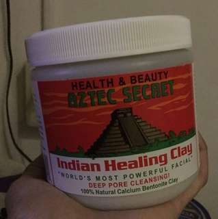 Aztec clay mask!!!